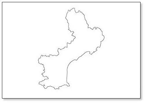 Languedoc-Roussillon - Kaart Regio Frankrijk Koelkast Magneet