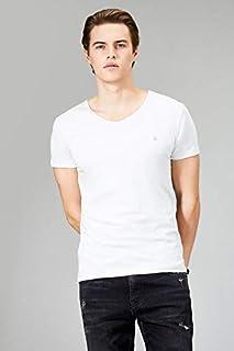 Avva Erkek Beyaz Düz T-Shirt A91B1171