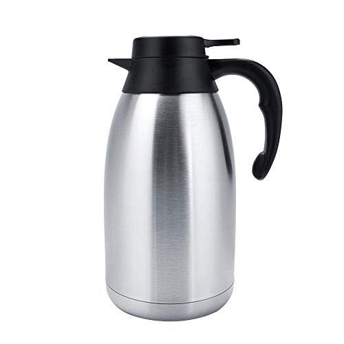 HYY-YY Aislamiento al vacío Agua Pot, térmica Olla de Acero Inoxidable del té del café Agua Pot Alto Rendimiento for Preparar té café Agua Caliente y fría de Almacenamiento de líquid