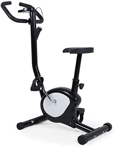 Bicicletas estáticas Fitness Bike Trainer Pedal de bicicleta deportiva con pantalla LED Resistencia ajustable Correa silenciosa Carga máxima 150Kg Equipo de fitness para entrenamiento de brazo y brazo