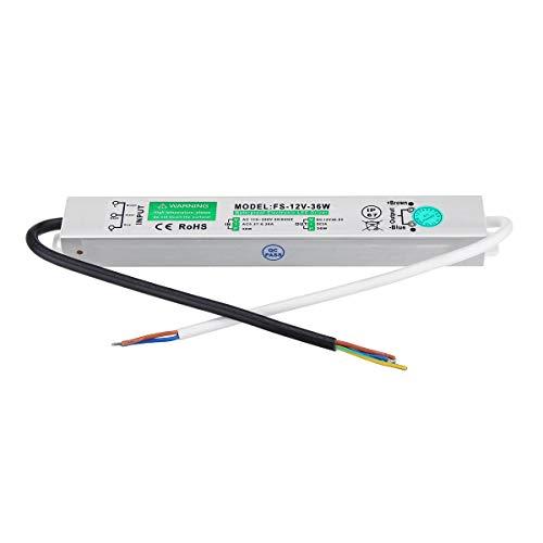 Dynamic 100-240V LED Pilote d'alimentation Transformateur d'alimentation Électrique Pilote LED Lumière Étanche Ip67-30w