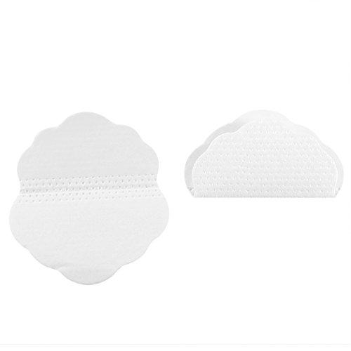 3 tipos, almohadillas antitranspirantes en forma de quincunx, almohadillas de sudor de axilas desechables para combatir la hiperhidrosis y la sudoración excesiva para mujeres y hombres(20Pcs)