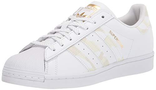adidas Originals Mens Superstar White/White/White 11