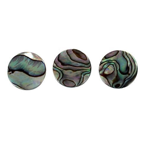 RONSHIN Popular Sell for 3 stks/set Vinger Knoppen Trompet Ventiel Muziekinstrumenten Abalone Shell Voor Trompet Reparatie Instrumenten Onderdelen Accessoires