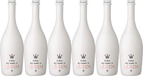"""Heuchelberg eG""""Today my name is Queen"""" Deutscher weißer Perlwein mit zugesetzter Kohlensäure Halbtrocken (6 x 0.75 l)"""