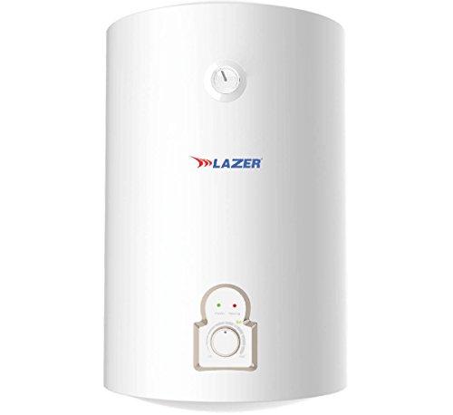 Lazer Alpha 15-Litre Vertical Water Heater (White)