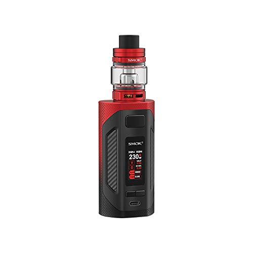 KIT D'ORIGINE SMOK RIGEL Kit Pod Vape 230W 6.5ml TFV9 Tank TFV9 Dual V9 Knitted Coils 0.15Ω Bobine de cigarette électronique Sans nicotine