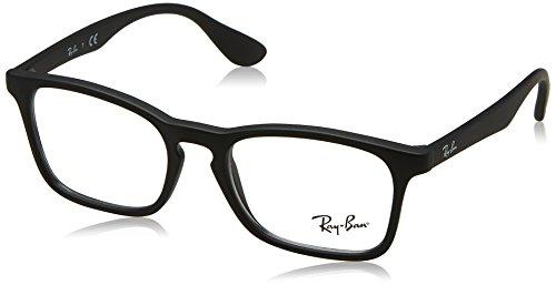 Ray-Ban 0Ry1553, Monturas de Gafas Unisex-Niños, Negro (Rubber Black), 48