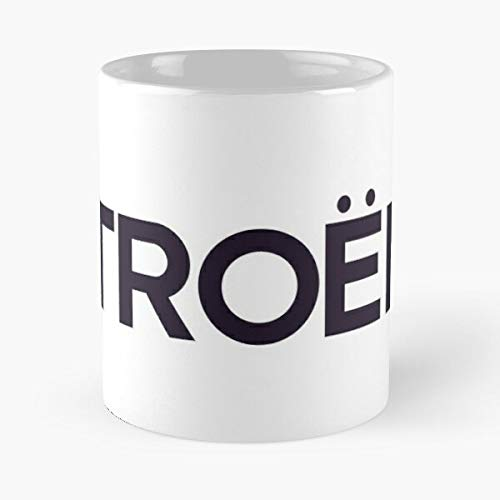5TheWay Mug Merchandise Citroen Best 11 oz Kaffeebecher - Nespresso Tassen Kaffee Motive