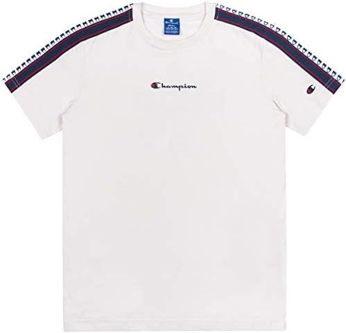 T-Shirt Champion para Hombre Blanco Roto - 213461ES001
