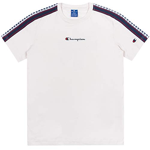Champion T-Shirt para Hombre Blanco Roto 213461ES001