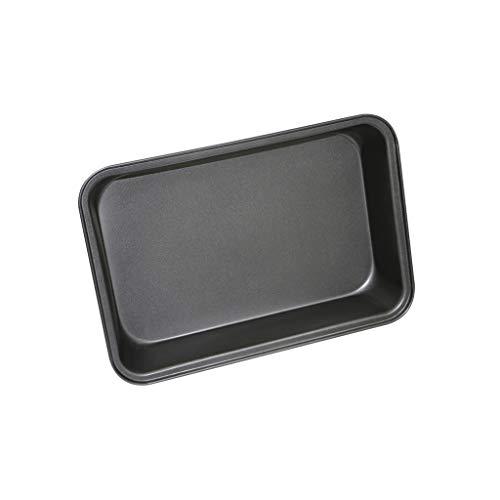 Four rectangulaire en acier au carbone Bac de cuisson profond antiadhésif Poêlé Poissons Grillés Poulet Poêlé au BBQ Barbecue