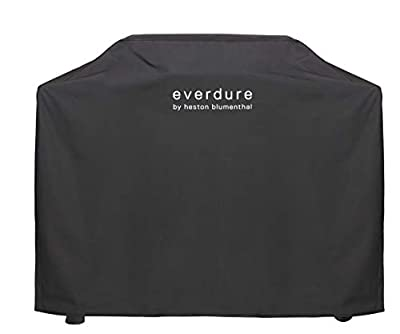 Everdure by Heston Blumenthal Furnace Freestanding Gas Grill Long Cover, Durable Straps, Waterproof Lining and 4 Season Protection, Black