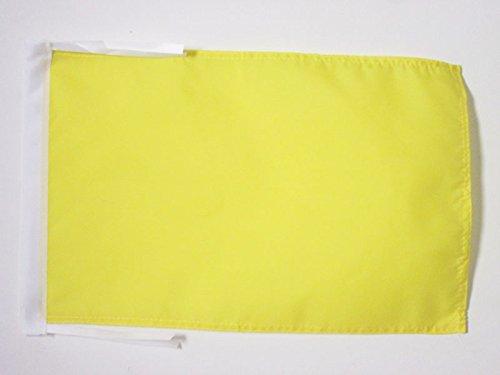 AZ FLAG Bandera del COMISARIO DE Pista Amarilla 45x30cm - BANDERINA CAMISARIOS DE Carreras - Formula 4 30 x 45 cm cordeles