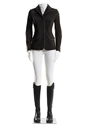 TATTINI Damen zeigen Jacke Softshell tecno leichten schwarz