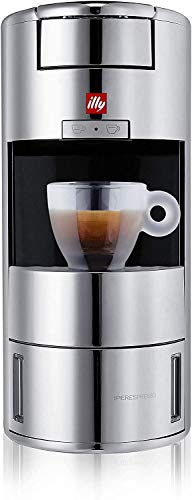 Illy X9 Iperespresso Kaffeemaschine - Kapselmaschine - Chrom