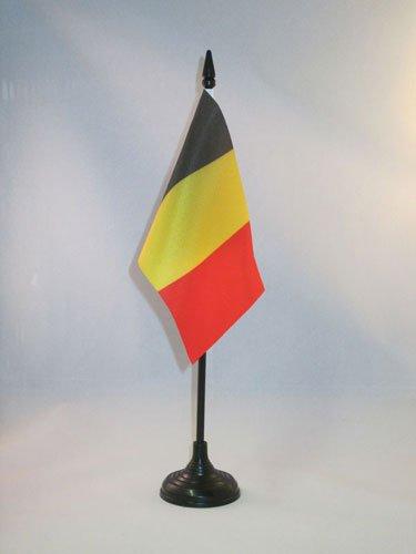 AZ FLAG TISCHFLAGGE Belgien 15x10cm -...
