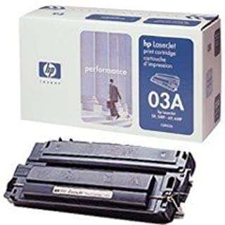 HEW C3903A Black Toner Cartridge for 5P, 5MP, 6P, 6MP in Retail Packaging
