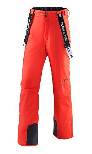Black Crevice Pantalone da Sci Rosso IT 52