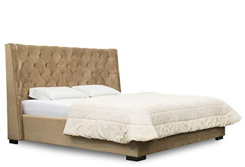 ES Design 08 Gestoffeerd bed Verty met opbergruimte, inclusief lattenbodem, 5 jaar garantie 140 x 200 cm