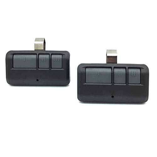 for Liftmaster 893LM 3-Button Garage Door Opener Gate1Access Remote Control 2 Pack