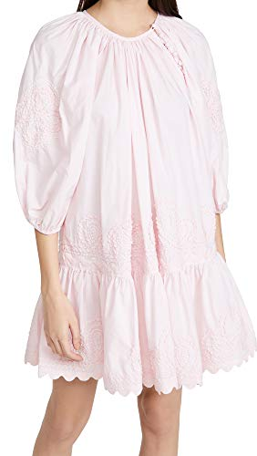 Juliet Dunn Women's Raglin Boho Dress, Shell Pink, 2