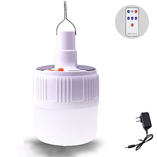 Draagbare led-lamp op zonne-energie met 5 bestanden, 2 laadmethoden, waterdicht IP46 voor wandelen, noodgevallen, stroomuitval