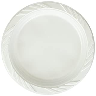 Blue Sky 100 Count Disposable Plastic Plates, 6-Inch, White (B0053KLQLE)   Amazon price tracker / tracking, Amazon price history charts, Amazon price watches, Amazon price drop alerts