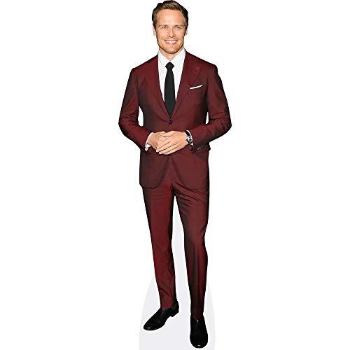 Sam Heughan (Burgundy Suit) Pappaufsteller lebensgross