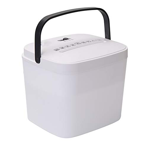 Buy Bargain LEFJDNGB Mini Portable Document Shredder,Desktop Fully Automatic Paper Shredder,Paper Sh...