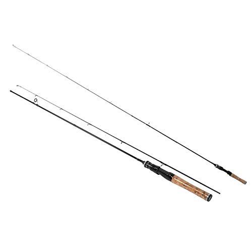Kurzer Angelruten Angelgerät Leichte Angelrute zum Angeln(1.8 Meters, Straight Handle)