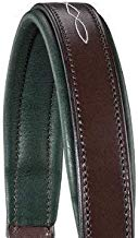 Circuit Padded Leather Halter Chocolate/hunter Full Size
