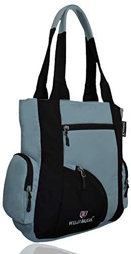 WILD MODA Women's Handbag (WMWB0483_Black)