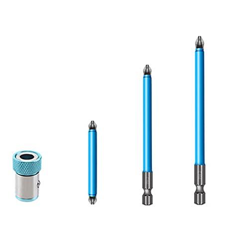 Brocas magnéticas antideslizantes y magnéticas, 7 piezas de puntas Phillips PH2, juego de herramientas manuales, destornillador, broca de 25 mm-150 mm (tipo -3)