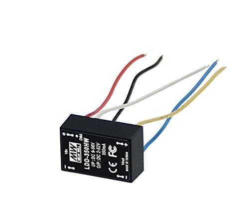 MW Mean Well Original LDD-300HW 9-56 V 300 mA DC-DC controlador LED de corriente constante