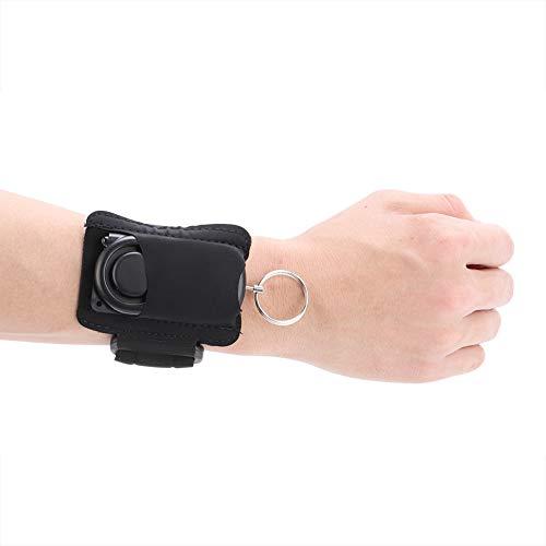 Led-armband, draagbaar 120 dB, noodalarm met led, veiligheidsalarmgeluid voor kinderen, studenten, vrouwen