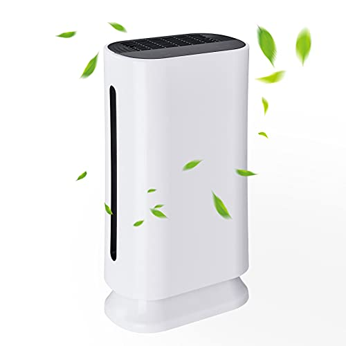 VONLUCE 35W HEPA Filter Air Purifier for Home Office 50m2 ,CADR 180 m³/h | 6 in 1 Air Purifier with UV Light HEPA Filter, Air Ioniser Home UK with Remote | Large Air Purifier for Bedroom Living Room
