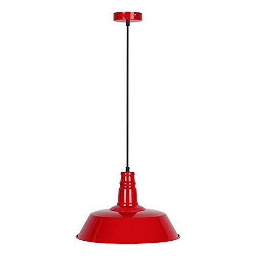 Bubbry antieke industriële hangende plafondhanglamp lampenkap lampenkap E27