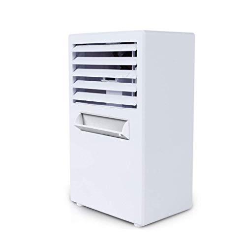 Mini refrigerador de Aire, Escritorio portátil 18W Humidificación Spray Purificación Aire Mesa Ventilador Hogar Dormitorio Cama