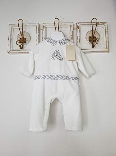 Armani Baby Tutina ciniglia Neonato