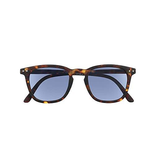 Unisex Sonnenbrille mit Sehstärke – Rechteckige Gläser – Sonnen Leser mit Retro-Style Schildpatt Fassung - UV400 Schutz - +2,50 Dioptrie – Für Damen und Herren - Brown - Silac - Sol Turtle Rubber 7550