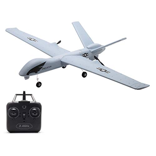 Remote Control Airplane with Light Bar,EPP 660mm 2CH RTF Rc Airplane,Easy & Ready to Fly,Radio Controlled 2.4G for Indoors and Outdoors Z51,Great DIY Gift Toy for Adults or Advanced Kids Beginners