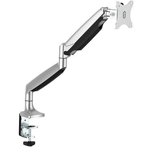 StarTech.com ARMPIVOTHD Monitorhalterung (Monitorarm, Schreibtischmontage, beweglich, für VESA Bildschirme bis zu 32 Zoll und 9kg)