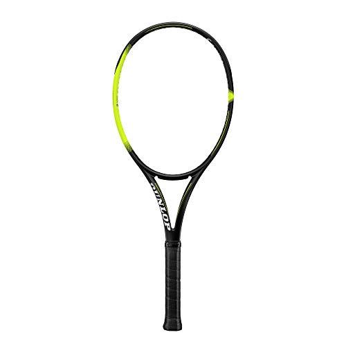 Dunlop Sx 300 Tour - Raqueta de Tenis, Color Negro/Amarillo, tamaño 4 3/8