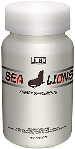 ULBO SEA LIONS シトルリン アルギニン ガラナ マカ 厳選成分10種類高配合 180粒