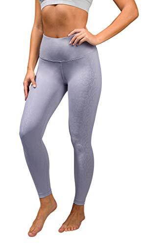 90 Degree By Reflex Performance Activewear - Printed Yoga Leggings - Quicksilver Camo - XS