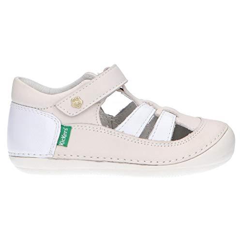 Kickers Zapatos 611088-10 Sushy 3 Blanc 27 para Niña y Niño