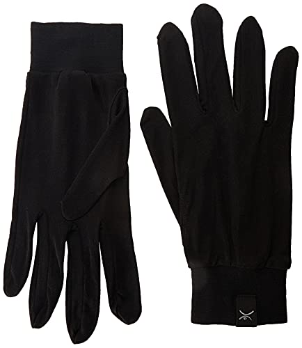 Terramar Adult Thermasilk Glove Liner (Black, Medium)