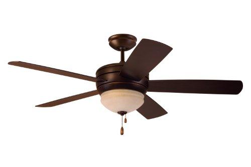 Best Outdoor Ceiling Fans - Emerson Ceiling Fans CF850VNB Summerhaven 52-Inch