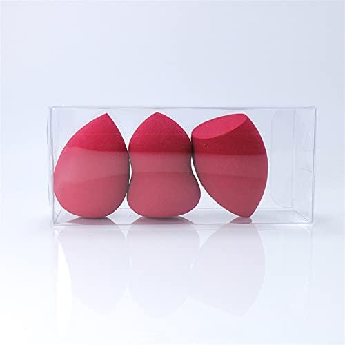 YSTSPYH Oeuf de Maquillage Mini éponge de Fond de Teint, 3 pièces, pour mélange d'œufs, Lisse, Outil de Maquillage Outils de Maquillage (Couleur : 09, Expédié De : Pologne)